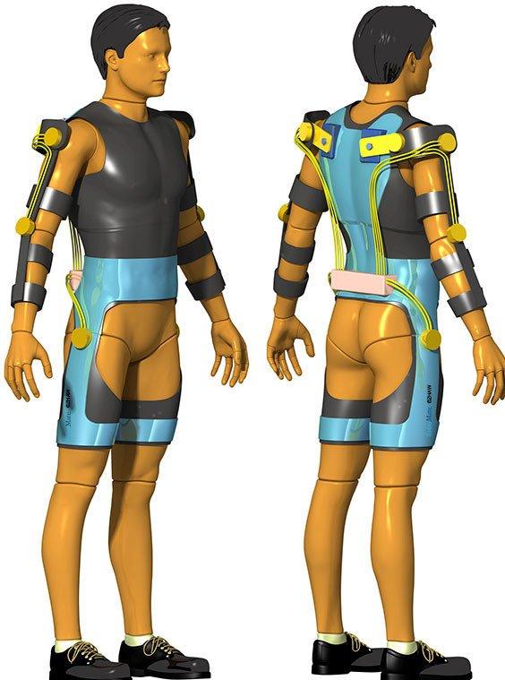 Am Design des Anzuges wird noch gearbeitet. Das Aussehen soll die künftigen Träger ansprechen und Sicherheit bieten.
