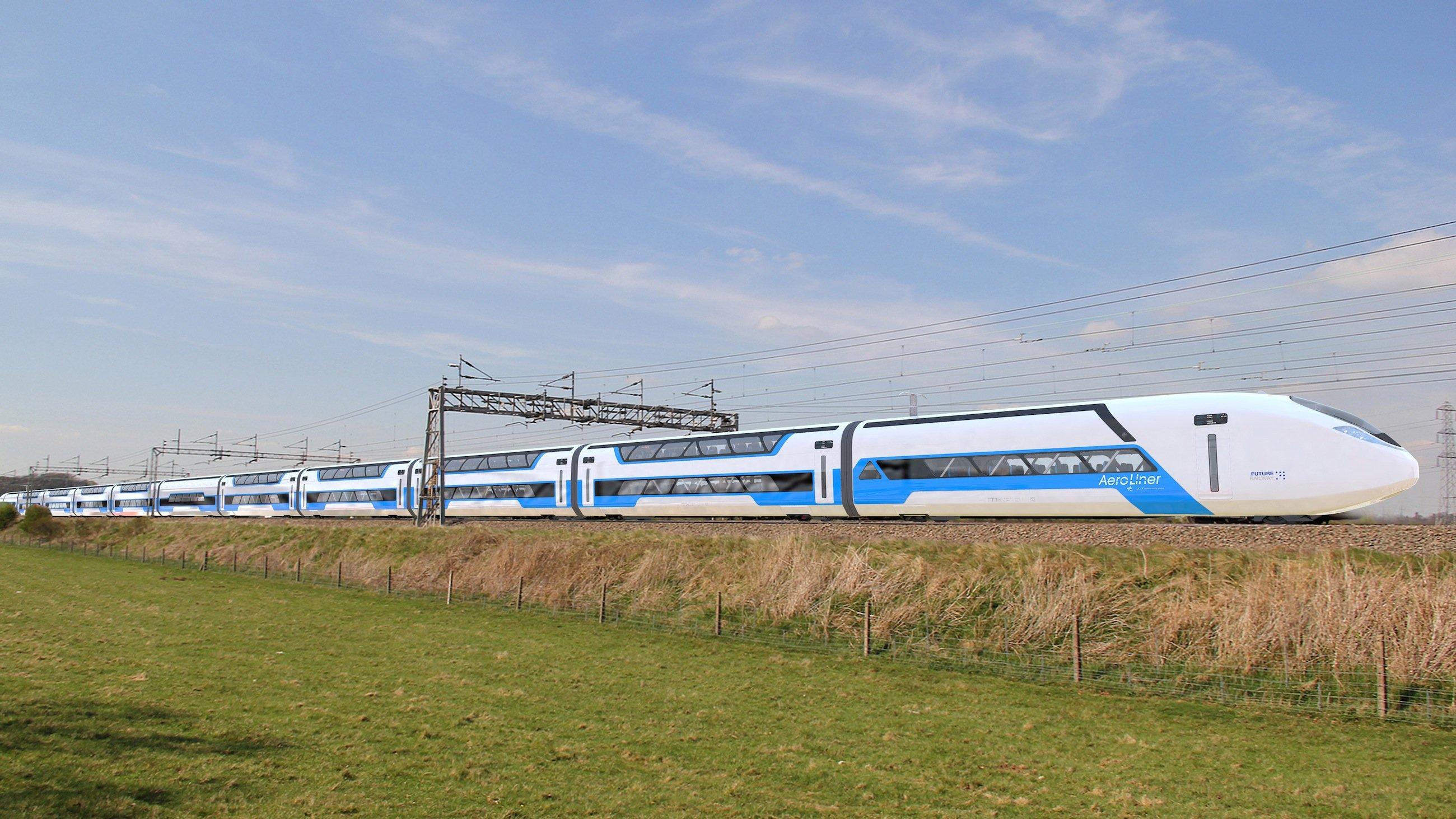Das Konzept Aeroliner3000von DLR und Andreas Vogler Studio schaffte es unter die besten drei von 48 Entwürfen des Wettbewerbs