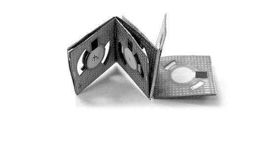 Origami-Batterie: Die Erfindung eines koreanischen Elektroingenieurs ist so groß wie eine Streichholzschachtel. Die faltbare Batterie aus Papier wird von Bakterien angetrieben.