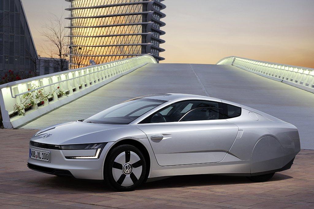 Bisheriger Rekordhalter für Spar-Autos: der XL1 von VW.