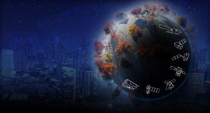 Die Satelliten der Sentinel-Familie sollen der Umweltbeobachtung dienen. Sie können unter anderem den Chlorophyll- und Blattwassergehalt der Pflanzen bestimmen.