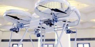 Deutsche Ingenieure bauen 100 km/h schnelle Drohne mit Benzinmotor