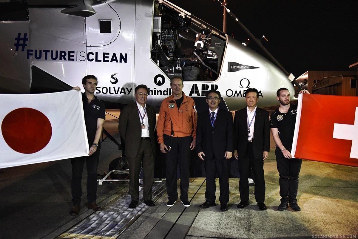 Da waren noch alle optimistisch, dass der Fünf-Tage-Flug von Japan nach Hawaii klappen würde.