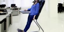 LeanChair ermöglicht Mischung aus Stehen und Liegen