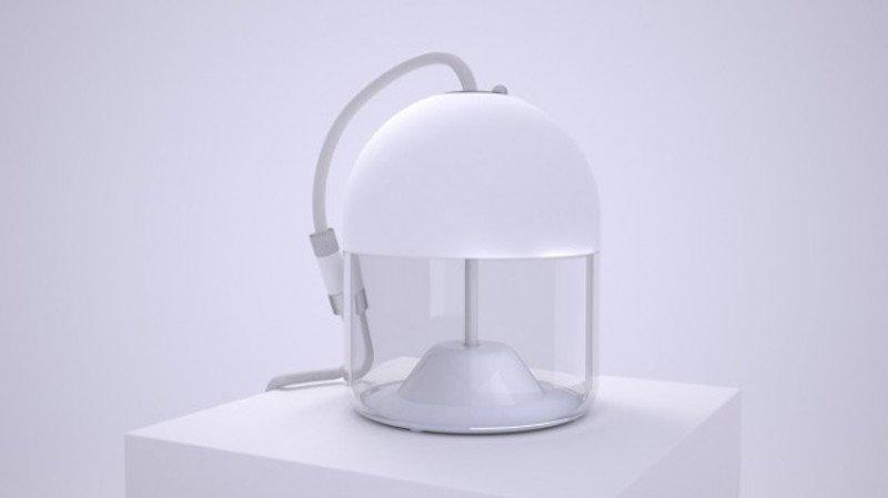 Prometheus ist ein Multifunktionsgerät, das Menschen bei Katastrophen beisteht: Es vereint Lampe, Radio und Akku mit USB-Anschluss in einem.