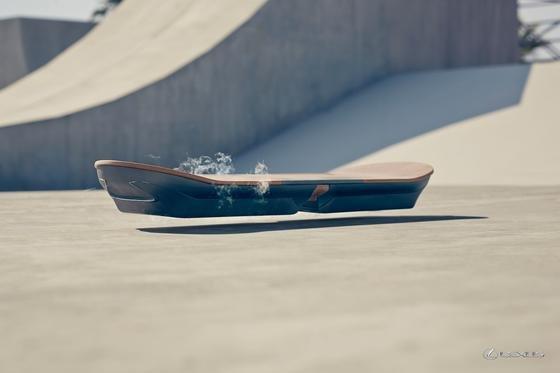 Schwebendes Hoverboard von Lexus: Das Board soll ein Prototyp bleiben und nicht in den Verkauf kommen.