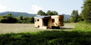 Wohnwagon aus Wien ermöglicht autarkes Leben