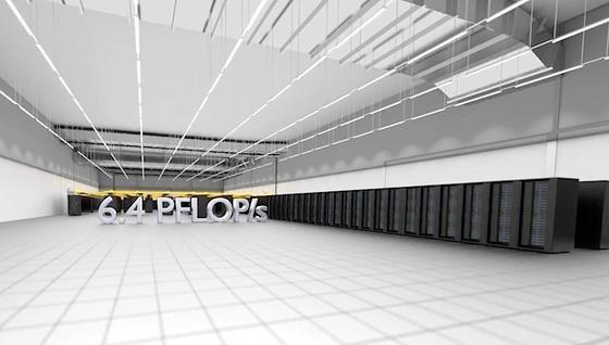 Eine Armada grauer Schränke in einer 600 Quadratmeter großen tristen Halle ist der SuperMUC. Jetzt schafft der Superrechner über sechs Billiarden Rechenoperationen pro Sekunde.