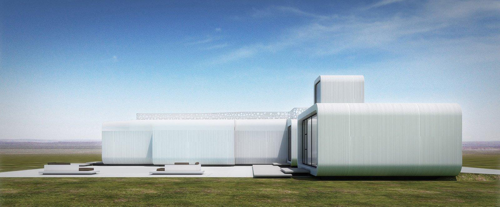 Das Projekt in Dubai versinnbildlicht den Anfang eines bedeutsamen Wandels im Bereich Bauwesen und Design: den Übergang zu 3D-Druck und digitalen Produktionsprozessen. Nachdem dreidimensionale Druckverfahren jahrelang im Labor erprobt wurden nähern sie sich nun rasant der Marktreife.