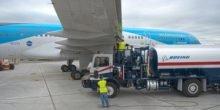 Boeing testet neue Techniken an alter TUI-Maschine