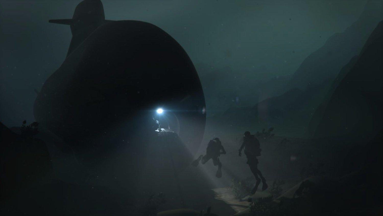 Bug-Ausstieg für Taucher: Sie können das U-Boot bequem verlassen, um Unterwasserminen zu entschärfen oder Tiefseekabel zu verwanzen.
