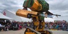 Japan gegen USA: Kampfroboter treffen sich zum Duell
