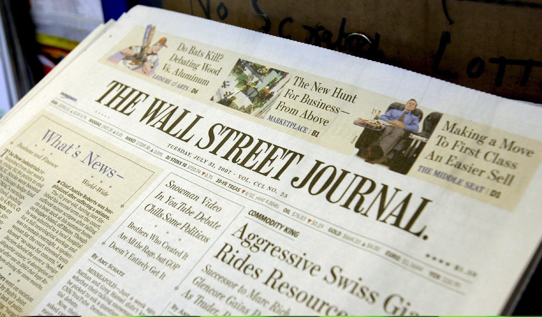 Die Print-Leser des Wall Street Journal waren gestern klar im Vorteil. Die Homepage der Wirtschaftszeitung war zeitweise nicht erreichbar.