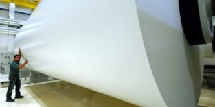 Grünes Laserlicht verdampft Druckerfarbe und macht aus Altpapier Neupapier