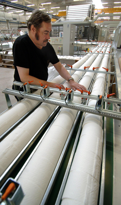 Toilettenpapier wird meist aus recyceltem Altpapier hergestellt.