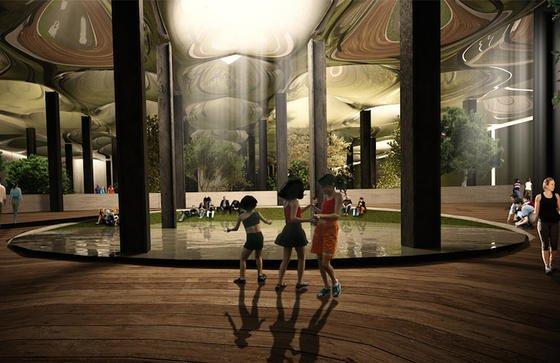 Bäume und Pflanzen unter der Erde: Eine verlassene unterirdische Straßenbahnstation in New Yorks beliebtem Stadtteil Manhattan soll zum Park umgebaut werden. Lowline nennt sich das Projekt.