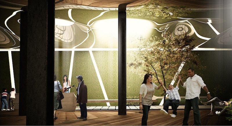 Auch für Unterhaltung soll im unterirdischen Lowline-Park gesorgt sein. Haken des Lowline-Projektes: Die Umsetzung würde rund 500 Mio. $ kosten