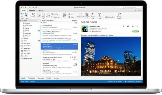 Microsoft hat nach fünf Jahren Pause endlich das Office-Paket für Mac überarbeitet. Ab sofort steht Office 2016 für Mac zur Verfügung. Windows-Nutzer müssen noch bis Herbst warten.
