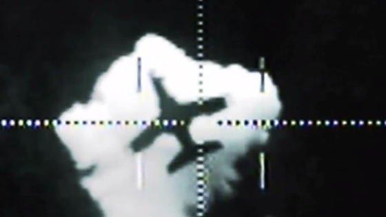 Flugzeug im Visier einer Laserwaffe: Rheinmetall hat bereits demonstriert, wie man Flugzeuge mit Hilfe eine Hochenergielasers abschießen kann.