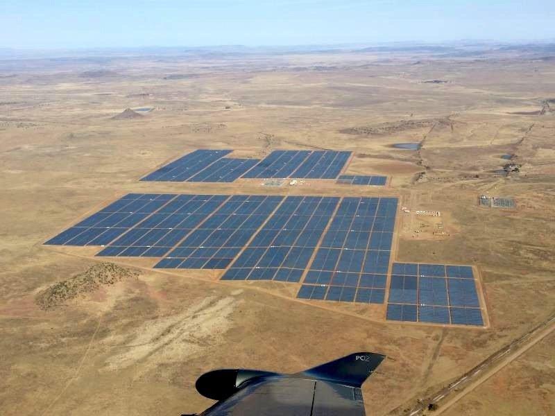 Das Solarkraftwerk in Mali soll rund 60.000 Haushalte mit Strom versorgen.