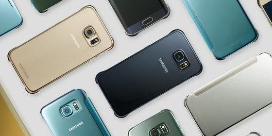 Smartphones von Samsung. Foto: Samsung