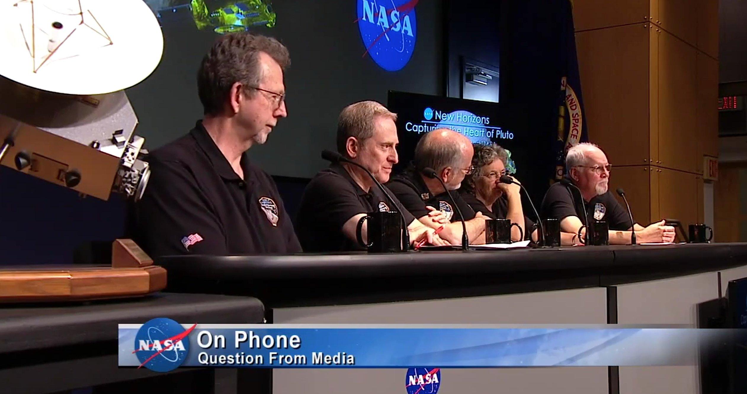 PK der Nasa zu den neuesten Ergebnissen der Mission New Horizons:Es wird noch 16 Monate andauern, bis alle bei diesem Vorbeiflug gesammelten Daten auf der Erde angekommen sind.