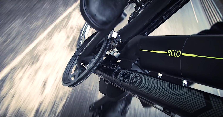 Fahrrad mit Relo-Antrieb: Der Motor bietet Tretunterstützung bis 25 km/h. Eine Akkuladung reicht für bis zu 50 km.