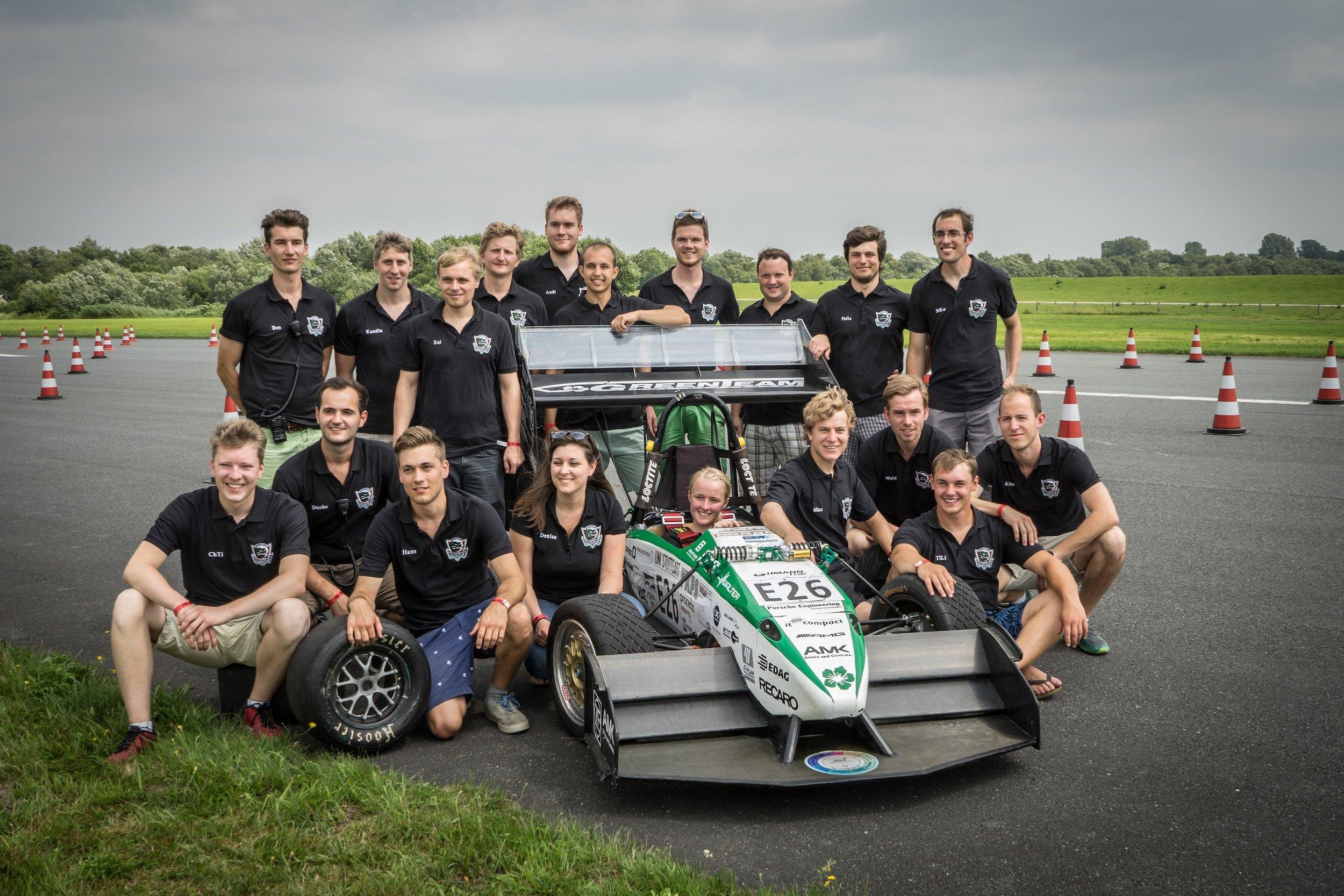 Das Stuttgarter Green Team: Auf der Weltrangliste steht es derzeit noch auf Platz sechs. Das könnte sich mit der Rekordfahrt ändern.