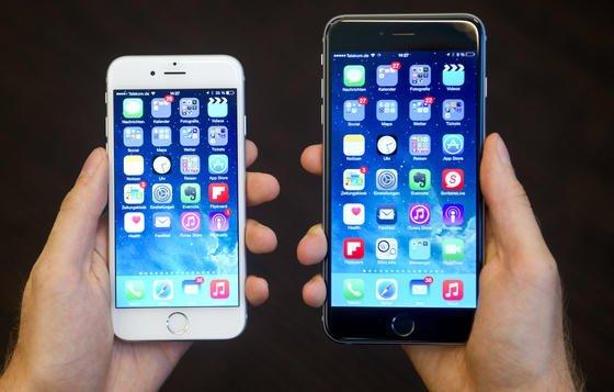 Apple-Smartphones der Generation 6: Werbung könnte sich zukünftig dem Kontostand des Besitzers anpassen – vorausgesetzt, er legt seine Finanzen freiwillig offen.