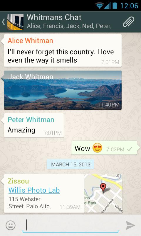 Im Gruppenchat kann man nun auch einzelne Chat-Kontakte stumm schalten.