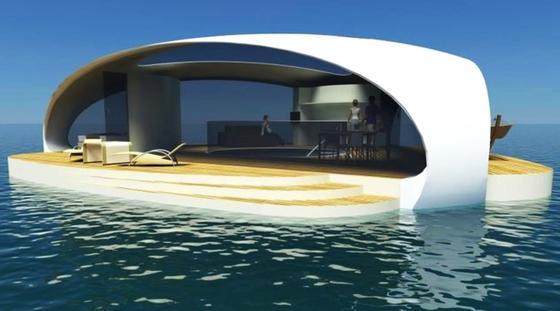 Seascape im Meer: Bislang existiert das Projekt nur auf dem Papier. Der Erfinder hofft, Tourismusanbieter überzeugen zu können.