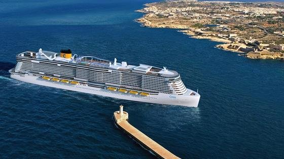 Die Reederei Costa Crociere erhält zwei neue Kreuzfahrtschiffe, gebaut werden sie von der Meyer Werft in Finnland. Sie werden bis zu 6600 Fahrgäste mitnehmen können. Ein neuer Weltrekord. Außerdem werden sie die ersten sein, die mit dem umweltfreundlichen Flüssiggas LNG sowohl im Hafen als auch auf dem Meer fahren.