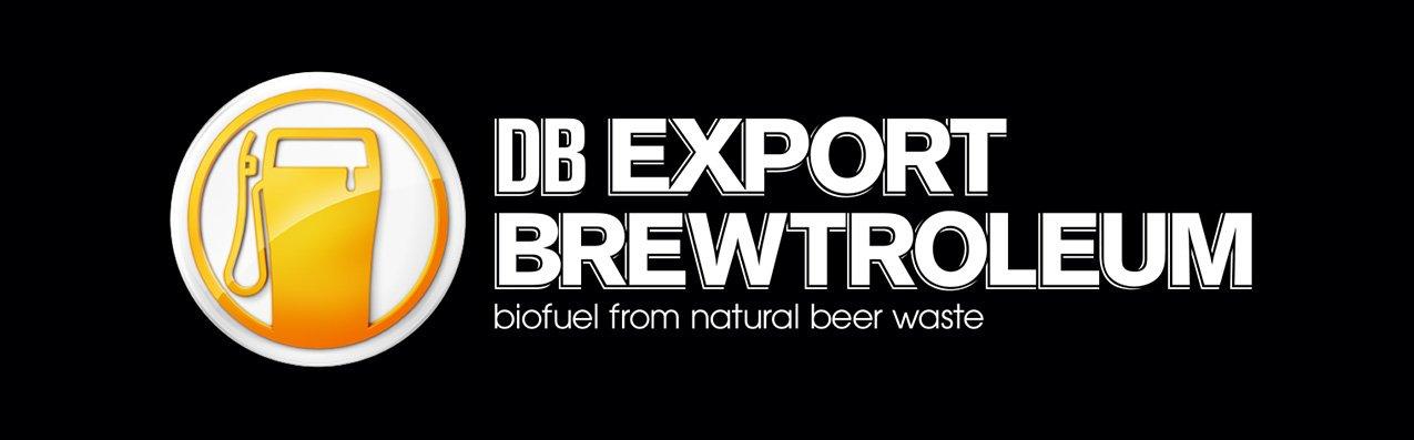 Das Logo des Biokraftstoffs: Die gelbe Zapfsäule erinnert tatsächlich an ein Glas Pint, der in Neuseeland üblichen Bierglasform.