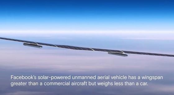 Passt nicht ganz aufs Bild: Die Internet-Drohne Aquila von Facebook hat eine Spannweite wie eine Boeing 737, wiegt aber nur 500 kg. Auf Italienisch bedeutet Aquila übrigens Adler.