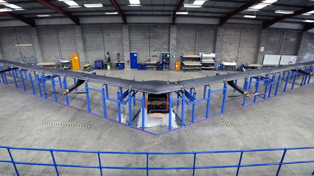 Aquila am Boden: Helium-Startballons sollen dieInternet-Relaisstation auf eine Höhe von 28.000 m bringen.