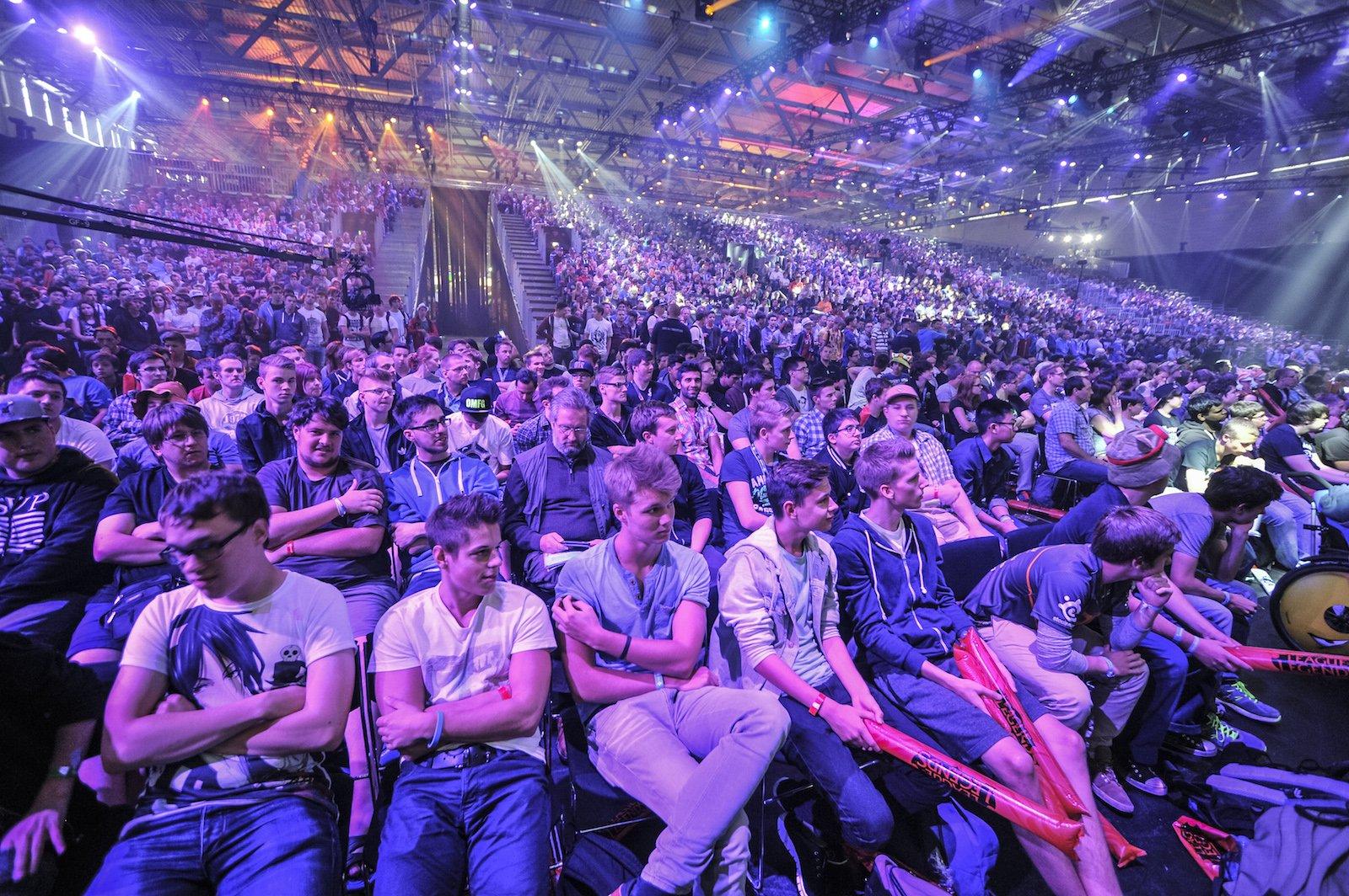 Kein einziger freier Stuhl mehr: Das wird wohl auch in diesem Jahr bei den Events auf der Gamescom so sein.