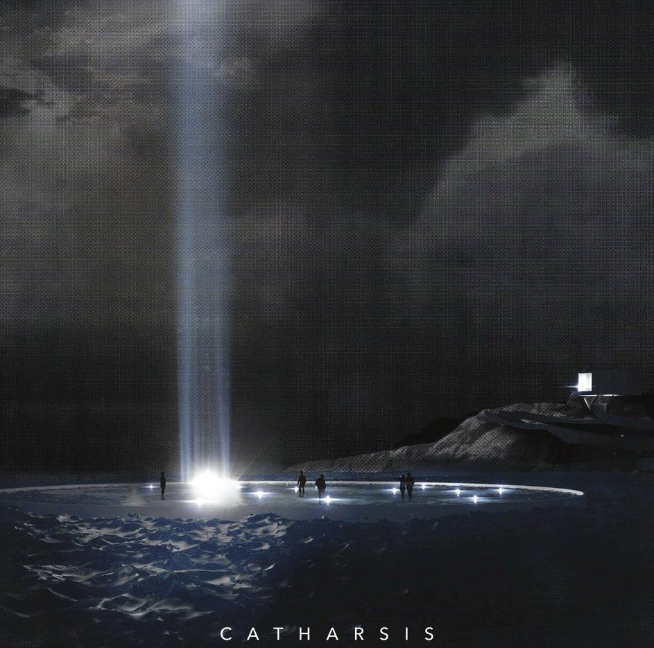 Leuchtturm Catharsis:Völlig unsichtbar bleibt die Architektur im drittplatzierten Entwurf, der nur das Licht selbst erkennen lässt.