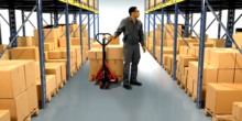 Lagermitarbeiter kommissionieren dank Datenbrille 18 % schneller