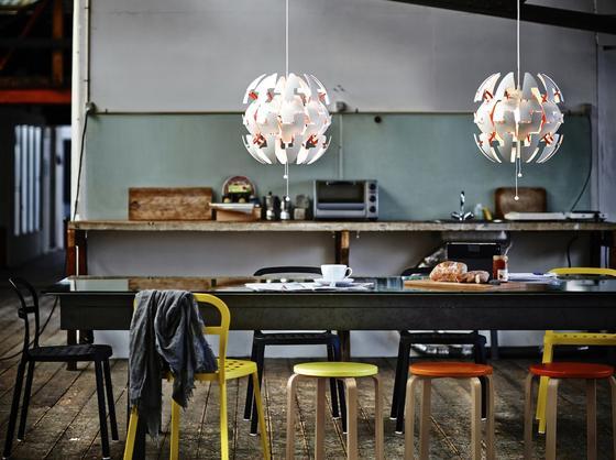 Ikea-Lampe mit Design-Preis Red Dot Award: Ikea nimmt ab September alle Energiesparlampen aus dem Sortiment und bietet nur noch LED-Leuchten an.