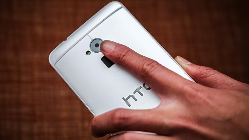Fingerabdruckscanner des HTC One max: Bis vor kurzem hat das Smartphone den Fingerabdruck als Bilddatei in einem Verzeichnis mit universellen Leserechten gespeichert. HTC hat diese Sicherheitslücke aber bereits geschlossen.