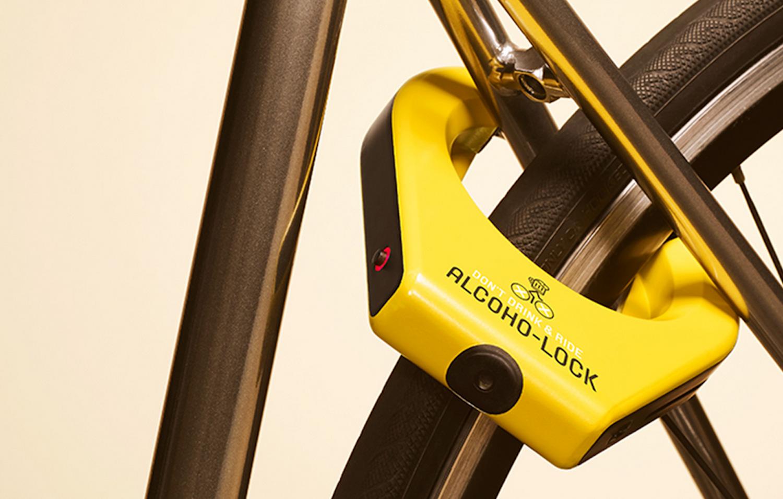 Das Fahrradschloss Alcoho-Lock besteht aus Aluminium und wiegt 466 g. Es soll für rund 250 € auf den Markt kommen.