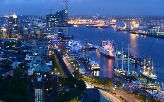 Hamburger Hafen testet intelligente Straße mit Sensoren und Kameras