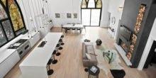 Wandlung: Ehemalige Kirche ist jetzt luxuriöses Einfamilienhaus