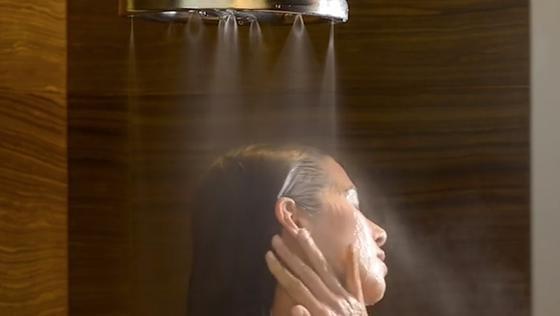 Sanft zu Mensch und Umwelt: Die Nebeldusche Nebia reduziert den Wasserverbrauch laut Hersteller enorm und lässt Testpersonen übers Duscherlebnis schwärmen.