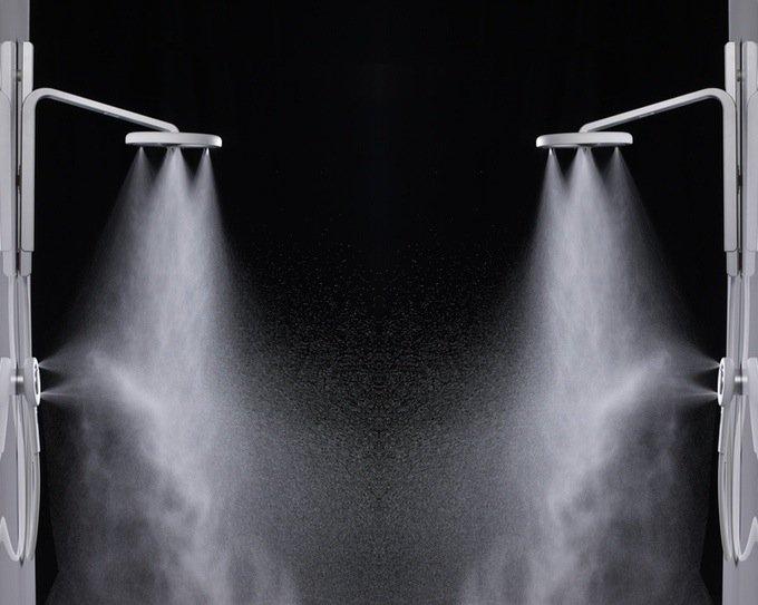 Nebia verspricht ein völlig neues Duscherlebnis.