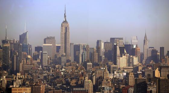 Skyline von New York: Israelische Wehrtechnik überwacht zukünftig das Stromnetz.