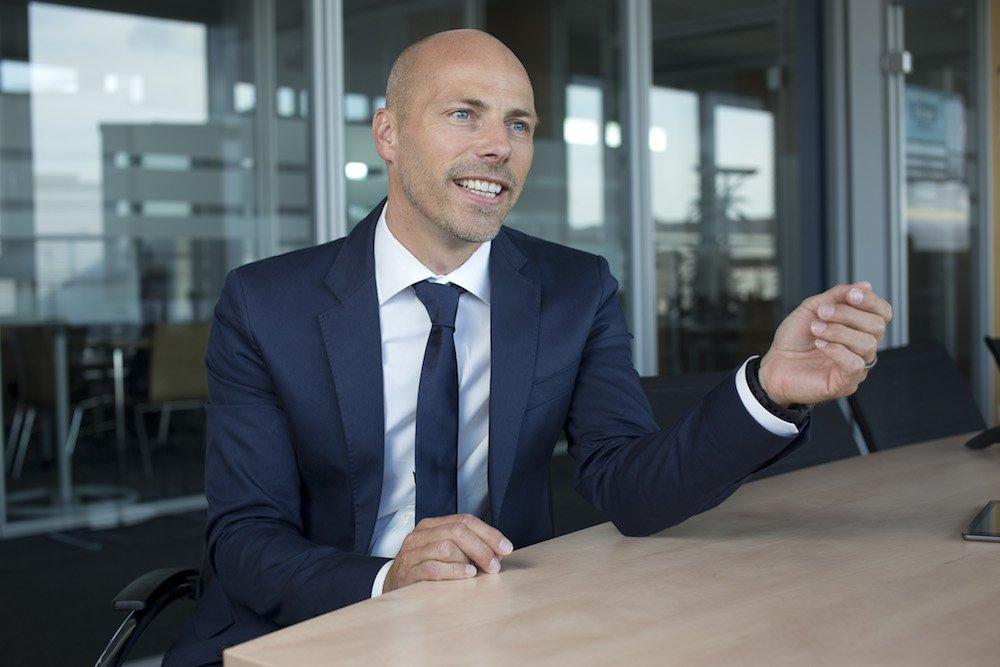 """""""Jetzt kann jedermann mit einer Profi-Technologie verschlüsseln,"""" sagt Jan Oetjen, Geschäftsführer von GMX und Web.de."""