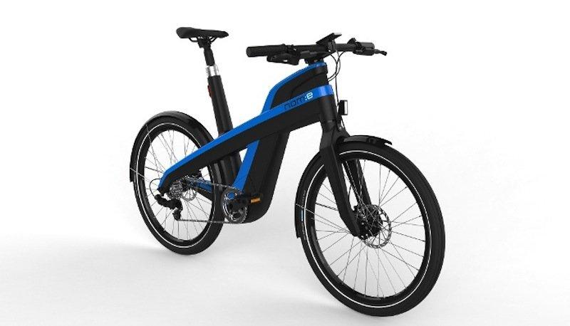 Der Rahmen des E-Bikes nam:e besteht aus Verbundmaterialien und ist bis zu 280 kg belastbar.