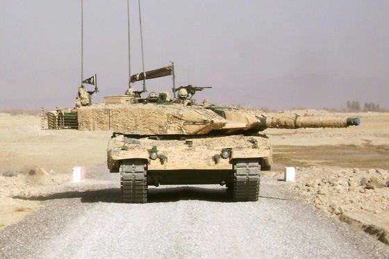 Kampfpanzer Leopard 2 A4 von KMW:Zu den Käufern zählen Deutschland, die Schweiz, die Niederlande, Spanien und Griechenland.