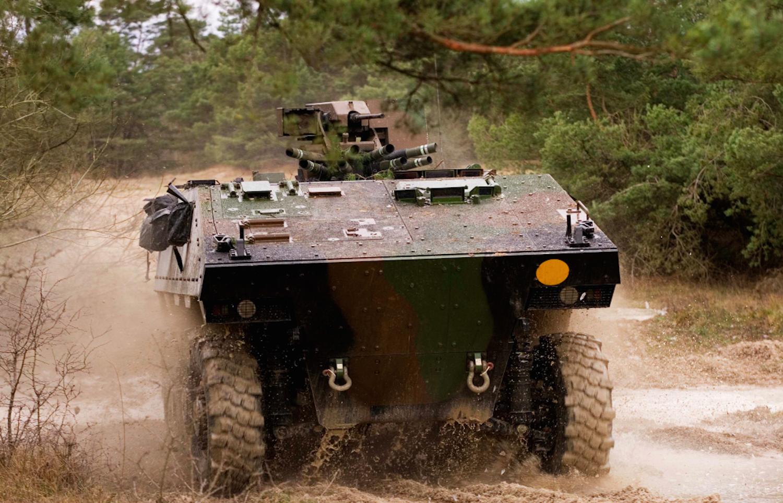 Späh- und Schützenpanzerfahrzeug Vbci des französischen Rüstungskonzerns Nexter.